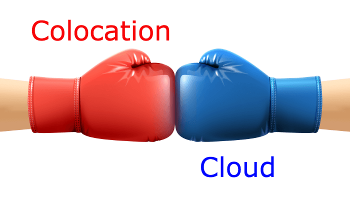 colocation vs. cloud