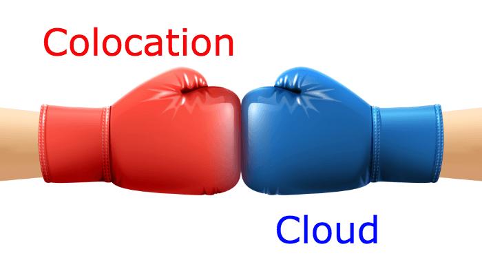 colocation vs. cloud